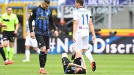 Inter, per Brozovic distrazione muscolare alla coscia destra