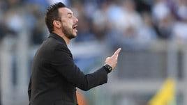 Serie A Sassuolo, De Zerbi: «Concedere quel rigore è stato grave, oltre il regolamento»