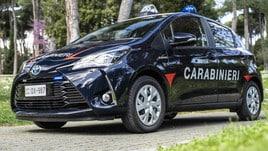 Toyota, 250 Yaris Hybrid all'Arma dei Carabinieri