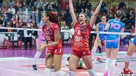 Volley: A1 Femminile, in Gara 1 dei Quarti Busto supera Monza al tie break