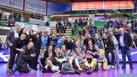 Volley: A1 Femminile, Firenze si regala un sogno, battuta Novara