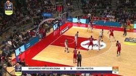 Segafredo Virtus Bologna-Oriora Pistoia 67-78