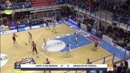 Happy Casa Brindisi-Umana Reyer Venezia 71-65