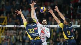 Volley: Superlega, Civitanova espugna Verona e raggiunge Modena in semifinale
