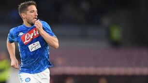 Tra Napoli e Genoa finisce 1-1: a Mertens risponde Lazovic