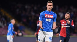 Napoli-Genoa 1-1: Lazovic risponde a Mertens