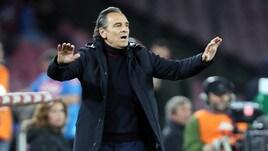 Serie A Genoa, Prandelli: «Prestazione convincente, abbiamo reagito bene all'espulsione»