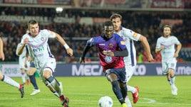 Serie B, Cosenza-Crotone 1-0: Embalo regala il derby a Braglia