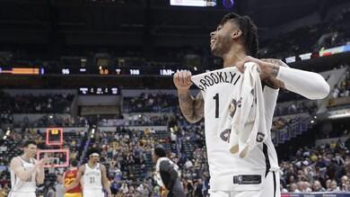 NBA, Houston da record. Warriors primi a Ovest, Brooklyn e Orlando ai play off