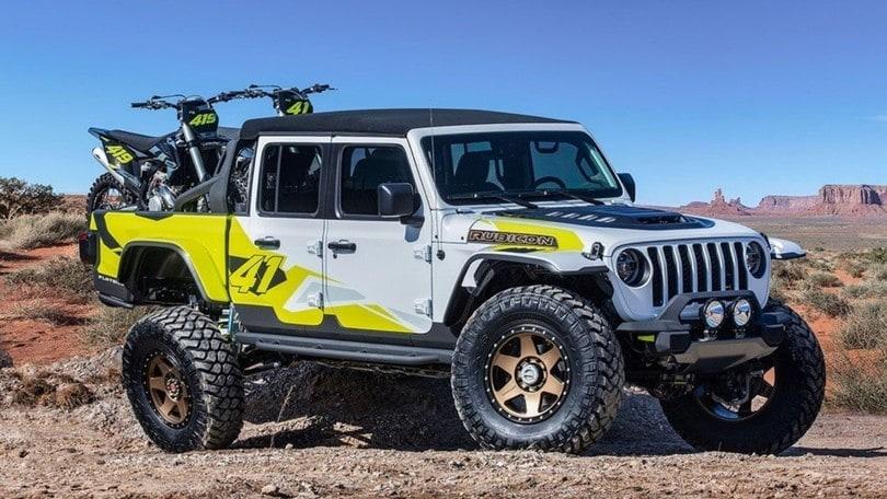 Jeep presenta 6 concept car per l'Easter Safari 2019