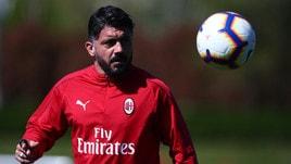 Milan, Gattuso: «Noi penalizzati. Con la Lazio vietato perdere»