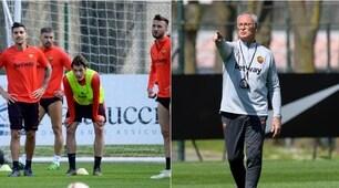 Roma, Ranieri prepara un duro allenamento: Schick stravolto!