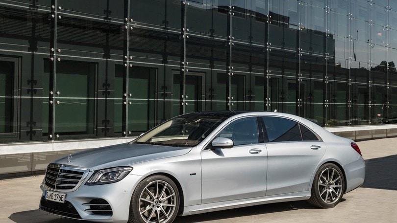 Mercedes Classe S, nuova generazione con ibrido e guida autonoma