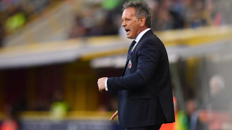 Serie A Bologna, Mihajlovic: «Primo tempo poco lucido, ma abbiamo meritato»