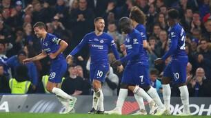 Chelsea, Hazard manda in estasi Sarri