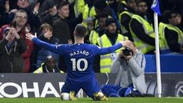 Premier, Hazard trascina il Chelsea. Delude Felipe Anderson