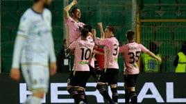 Serie B, decide Nestorovski: Palermo-Verona 1-0, rosanero terzi