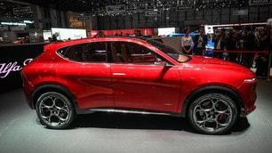Alfa Romeo Tonale, le foto del Suv in mostra al Fuori Salone 2019