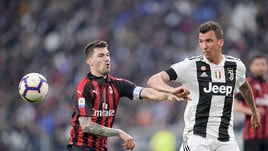 Serie A, nessuna prova televisiva per Mandzukic. Otto squalificati