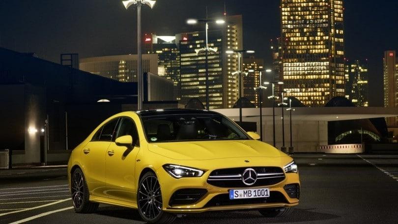 Salone di New York, arriva la nuova Mercedes-AMG CLA 35