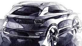 Hyundai Venue, svelati i bozzetti del nuovo crossover