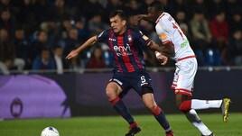 Serie B, Golemic fermato per cinque turni. Per Maniero e Porcino tre giornate di stop