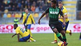 Serie A Sassuolo, lavoro a parte per Marlon e Adjapong