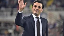 Fiorentina, Montella arrivato a Firenze: «Sono felice»