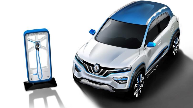 Renault City K-ZE, il suv elettrico debutta al Salone di Shanghai