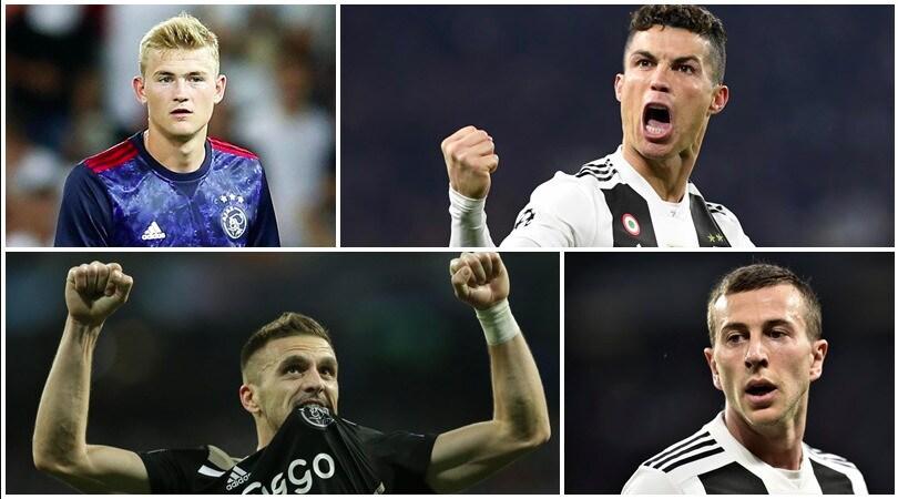 Sfida da un miliardo di euro: quanto valgono Juve e Ajax giocatore per giocatore