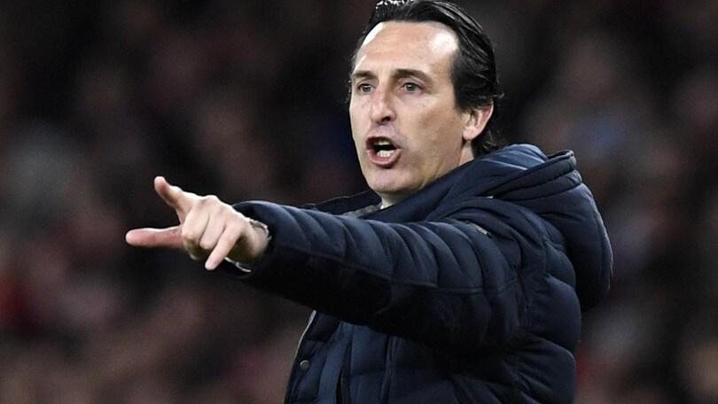 Arsenal, Emery: «Contro il Napoli sfida alla pari. Ancelotti uno dei migliori»
