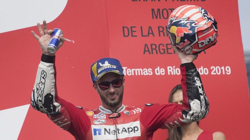 MotoGp Ducati, Dovizioso: «In Texas punto al podio»
