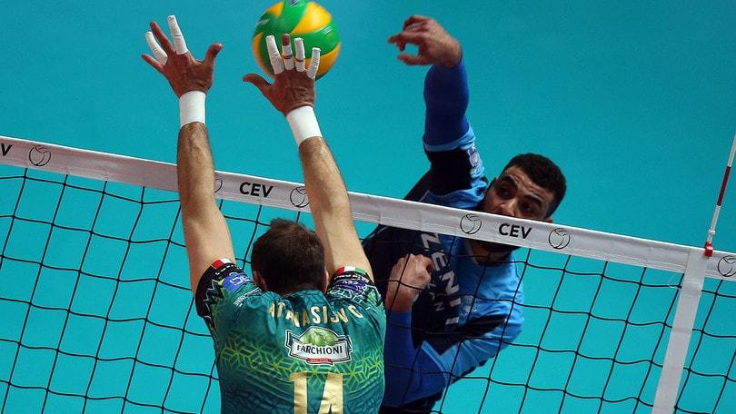 Volley: Champions League, Perugia esce a testa alta