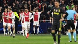 Champions, Ajax-Juventus 1-1: non basta il solito Cristiano Ronaldo