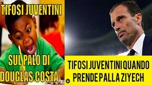 Ajax-Juventus, il web impazza