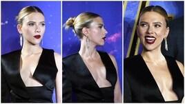 Scarlett Johansson dà spettacolo a Londra