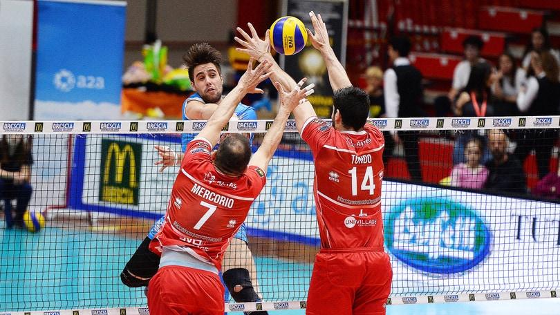 Volley: A2 Maschile, Cantù e Bergamo chiudono i conti, due match alla bella