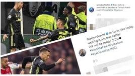 Juventus, da Bonucci a Ronaldo: le reazioni dopo l'Ajax