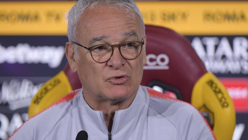 Roma, Ranieri: «I tifosi con noi per la Champions. Totti l'uomo giusto per il futuro»