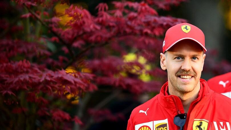 F1 Ferrari, Vettel: «In Cina il podio sarà rosso»