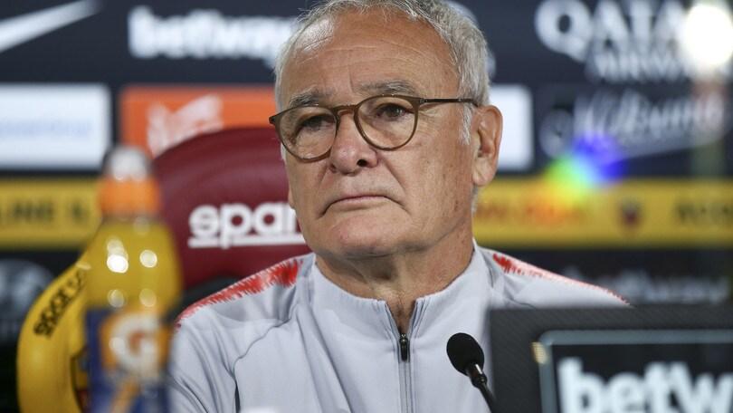 Roma, Ranieri: «Conte? Ci sono anche io. Un ko con l'Inter non sarebbe la fine»