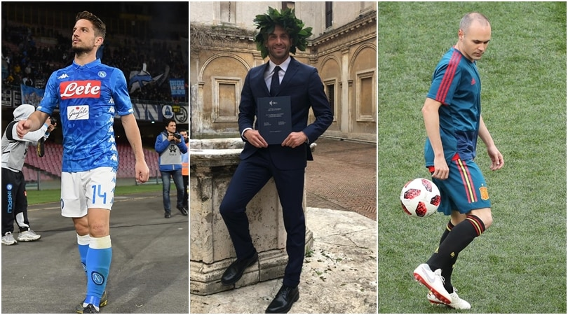 Da Iniesta a Mertens: tutti i laureati nel mondo del calcio