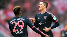 Bayern Monaco: Lewandowski e Coman, rissa in allenamento