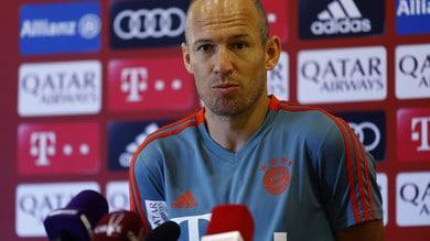 Robben, stagione da incubo: «Non credo di giocare ancora per il Bayern»
