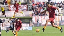 Le leggende della Roma in campo: da Totti a Conti, che show!