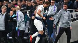 Tottenham, Kane ko: lesione ai legamenti della caviglia