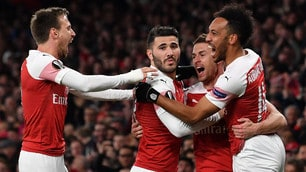 Europa League, Napoli ko a Londra: l'Arsenal vince 2-0