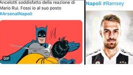 Arsenal-Napoli sui social: Mario Rui bersagliato, Ramsey già idolo bianconero