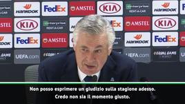 Ancelotti al giornalista: