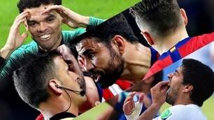 Non solo Diego Costa: tutti i cattivi del calcio